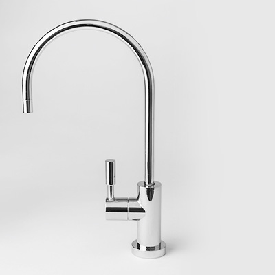 chrome plated faucet