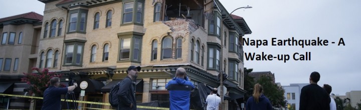 Napa, California Earthquake is a Wake-up Call