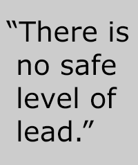 no safe level lead