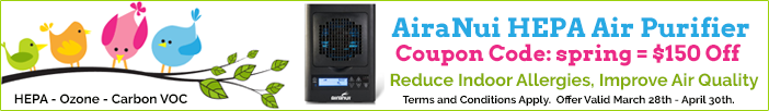AiraNui Air Purifier Sale