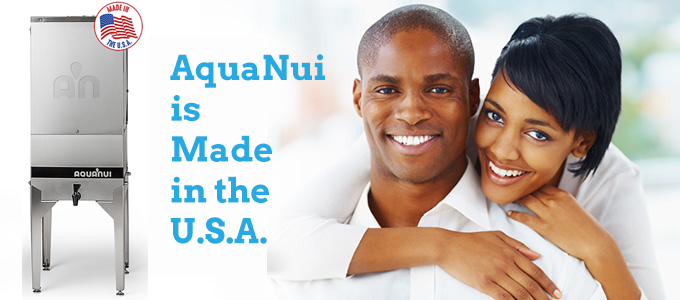 AquaNui Water Distillers are made in the U.S.A.