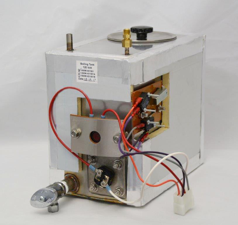 AquaNui 8 Gallon Boiling Tank