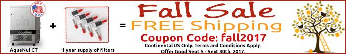 Fall Sale Coupon Code: fall2017