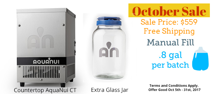 October 2017 Water Distiller Sale